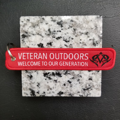 Custom Veteran Outdoors Welcome To Our Generation Remove Before Flight Keychain, Tag, or Streamer