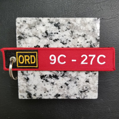 Custom Airfield Sign Remove Before Flight Keychain, Tag, or Streamer