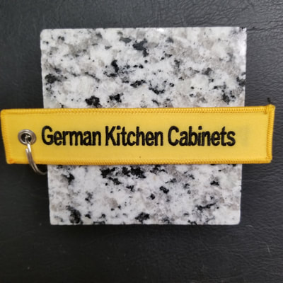 Custom NOLTE USA German Kitchen Cabinets Remove Before Flight Keychain, Tag, or Streamer