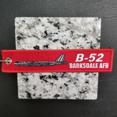 Custom Barksdale Air Force Base B-52 Remove Before Flight Keychain, Tag, or Streamer