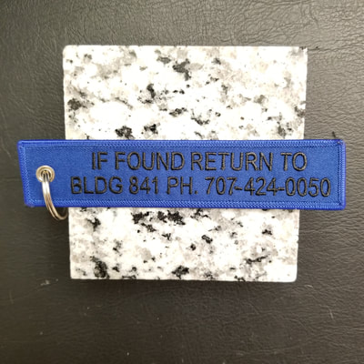Custom United States Air Force Composite Tool Kit USAF CTK Key Return Tag Remove Before Flight Keychain, Tag, or Streamer