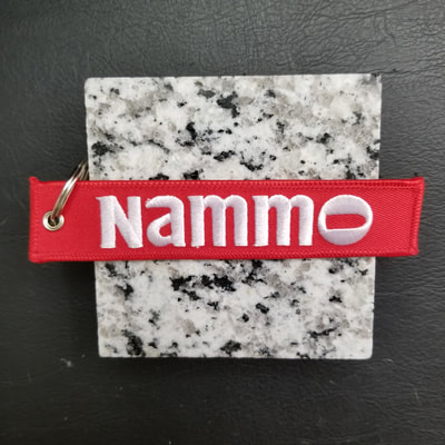 Custom NAMMO Remove Before Flight Keychain, Tag, or Streamer