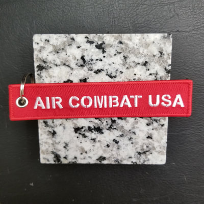 Custom Air Combat USA Remove Before Flight Keychain, Tag, or Streamer