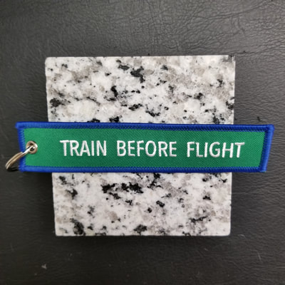 Custom Train Before Flight Remove Before Flight Keychain, Tag, or Streamer